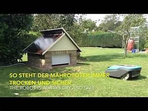 Rasenroboter Garage Selber Bauen : gardena r40li klappe garage automower doovi ~ Eleganceandgraceweddings.com Haus und Dekorationen