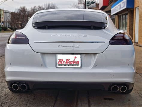 smoked headlights and tail lights 2010 porsche panamera smoked headlights and smoked tail