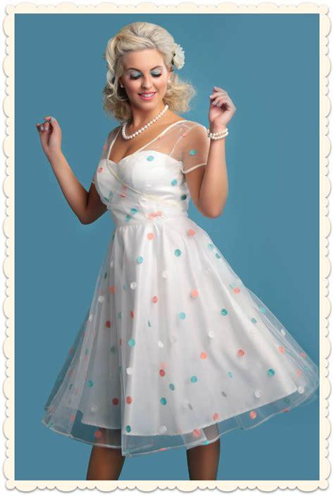 robe de f 234 te swing r 233 tro pin up confetti ivoire 224 pois toutes les robes robes swing