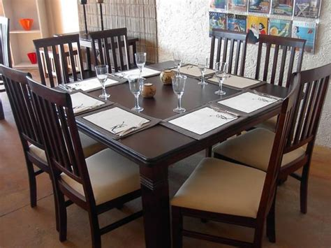square dining table and chairs forever within the