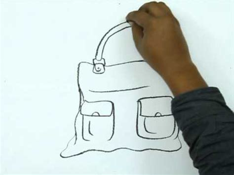 draw  leather bag youtube