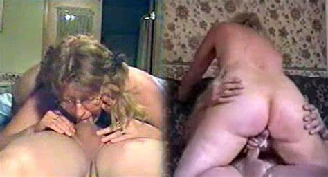 Reality Creampie For Old Stepmommy