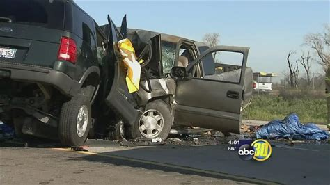 3 Killed In A Headon Truck Collision On Highway 99, Near