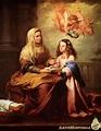 Santa Ana y la Virgen | artehistoria.com