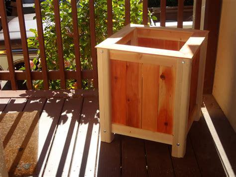 cedar planter box plans ideas home decorations insight