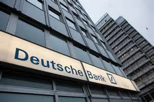 Deutsche Bank in the red