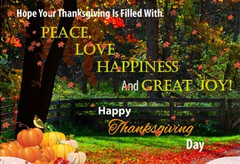 filled  peace love  joy  happy thanksgiving