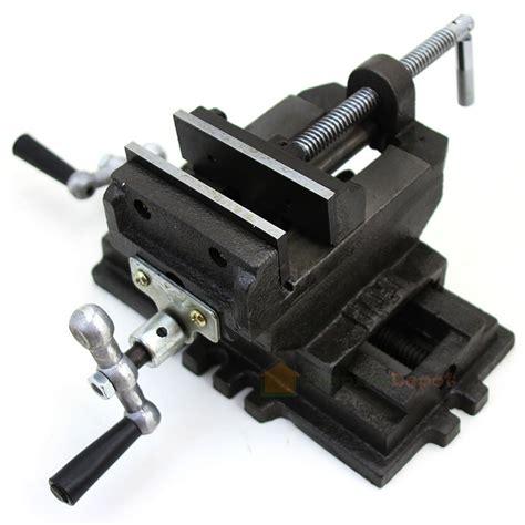 cross  vise drill press vises clamp   work