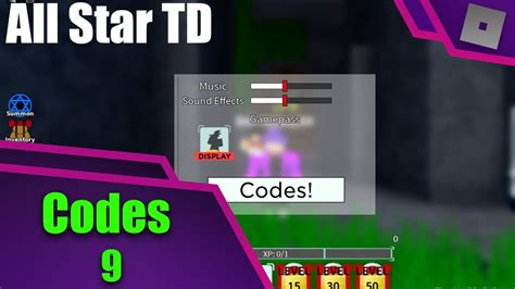 But remember, redeem codes for all star tower defense come and go really fast. Roblox All Star Tower Defence | 9 Codes (Expired) - YouTube