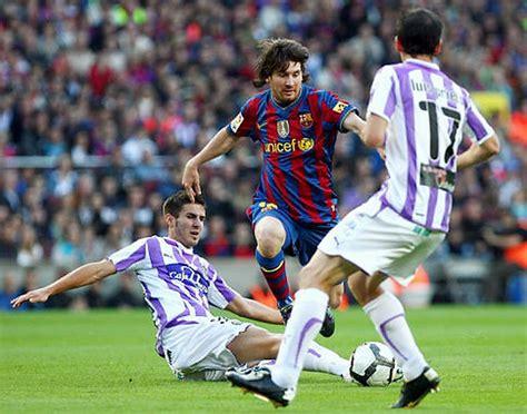 Lionel Messi equals Ronaldo's Barcelona goal-scoring ...