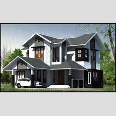 Interior Plan Houses  1x1trans Modern 4 Bedroom Kerala