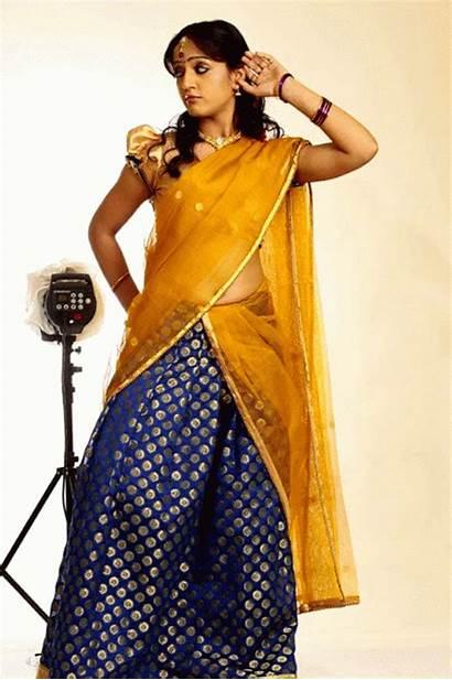 Latest Telugu Divya Actress Singh Saree Shoot
