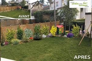 Cacher Vis A Vis Jardin : habiller un mur monjardin ~ Dailycaller-alerts.com Idées de Décoration