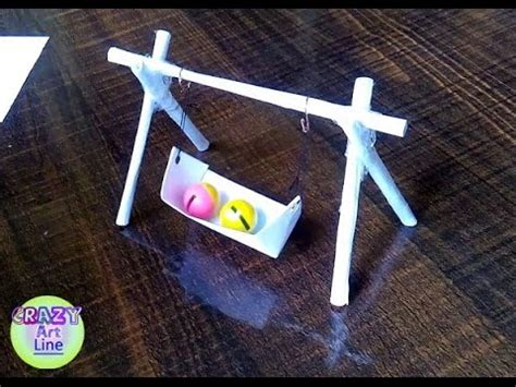 Miniature Porch Swing Tutorial (actually Works!) Doll