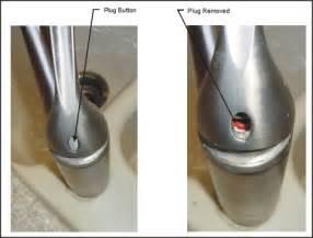 how to repair a kohler kitchen faucet repairing kohler faucet