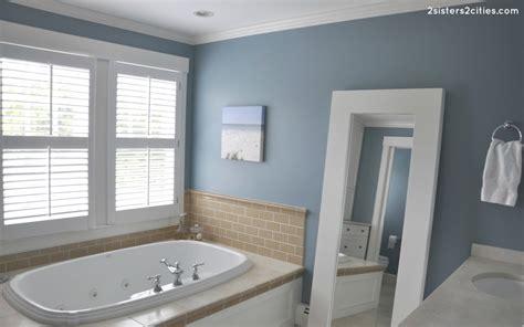master bathroom paint color reveal jamestown blue 2