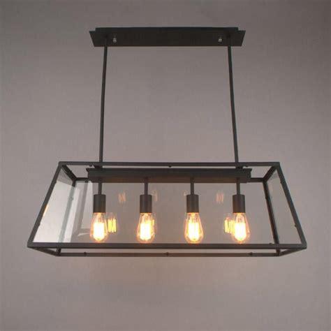 3 Light Dining Room Light loft pendant l retro american industrial black iron