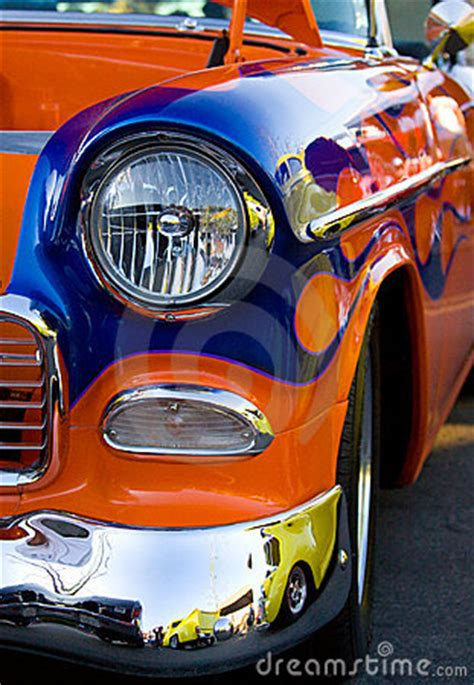 vintage classic car hot rod royalty  stock
