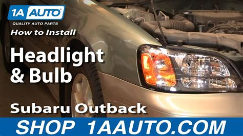 subaru forester headlight bulb replacement subaru
