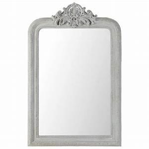 Grand Miroir Maison Du Monde : lo specchio shabby chic secondo maison du monde arredamento provenzale ~ Teatrodelosmanantiales.com Idées de Décoration