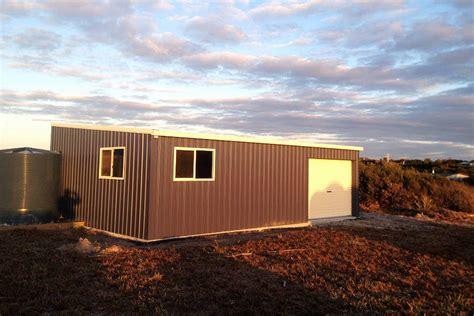 garages and sheds skillion roof sheds and garages ranbuild