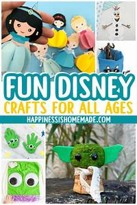 24 disney crafts for all ages happiness is