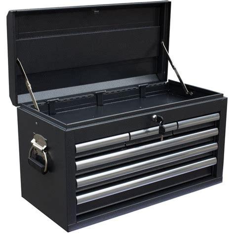 Tool Box Dresser Black by Wen 26 In 6 Drawer Tool Chest Powdercoat Black 74706