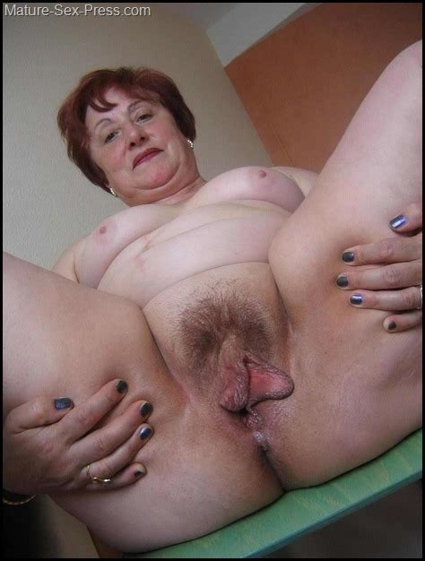 hairy big pussy lips grandma mature sex press
