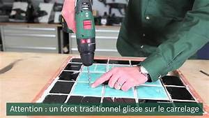 Percer Dans Du Carrelage : tuto comment percer du carrelage youtube ~ Dailycaller-alerts.com Idées de Décoration