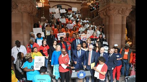 The Housing Stability And Tenant Protection Act Of 2019 A by New York State Senate News Conference On Housing Stability