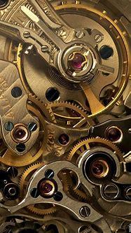#maquinaria #reloj #metal #dorado #engranaje #mecanismo # ...
