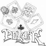 Poker Coloring Pages Getcolorings Printable Deviantart sketch template