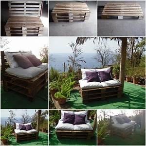 Sofa Für Balkon : terrasse balkon sofa europaletten ideen bauen palleten ~ Pilothousefishingboats.com Haus und Dekorationen