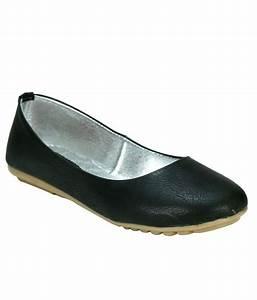 German Shoes Black Ballerinas Price in India- Buy German ...