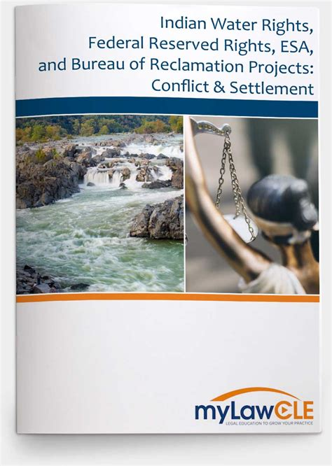 federal bureau of reclamation indian water rights federal reserved rights esa and