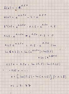Differenzial Rechnung : differenzialrechnung ableitung hoch und tiefpunkte ~ Themetempest.com Abrechnung