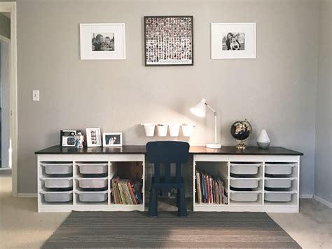 desk for children s room children 39 s desk ikea trofast hack liam 39 s room