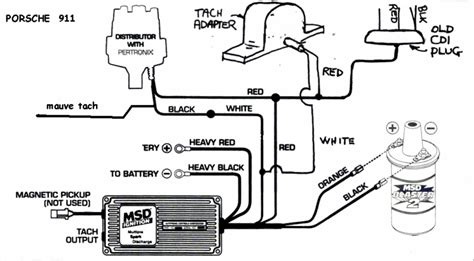 Msd Coil Tach Wiring by Msd Wiring Advice Connectors Page 3 Pelican Parts Forums