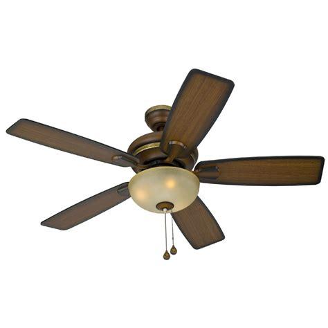 shop harbor breeze 44 in cedar hill walnut ceiling fan