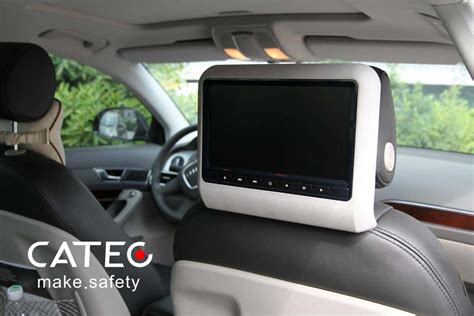 Car Seat Back Dvd Players/ Car Headrest Dvd Players For