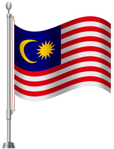 Malaysia Flag PNG Clip Art - Best WEB Clipart