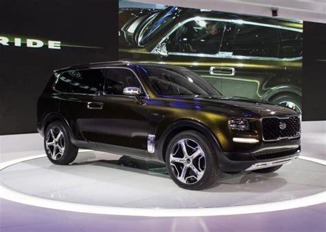 subaru suv 2016 detroit auto show kia telluride concept ny daily news