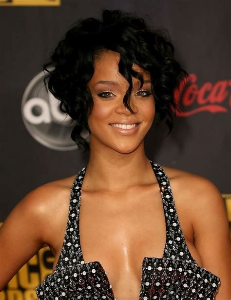 Rihanna Curly Hairstyle by Rihanna Hairstyles Hairstyles 2016