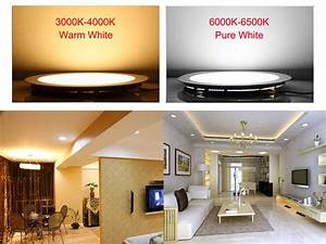 Led Ceiling Downlight  Round  Square  Detailed Installation