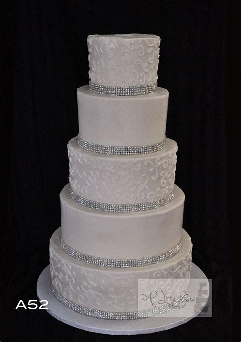 buttercream iced wedding cake a little cake