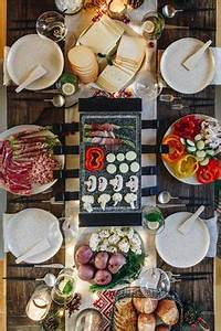 Idée Raclette Originale : raclette party tr s jolie pr sentation recettes ~ Melissatoandfro.com Idées de Décoration