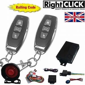 Rclick Universal Car Alarm Remote Central Lock