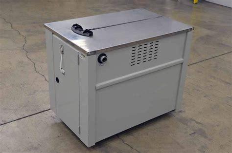 uline   polypropylene strapping machine boggs equipment