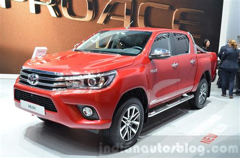 toyota mtr 2016 toyota hilux pickup launches in france