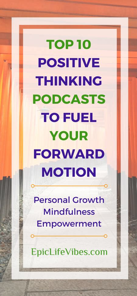 Top 10 Positive Thinking Podcasts to Fuel Your Forward ...